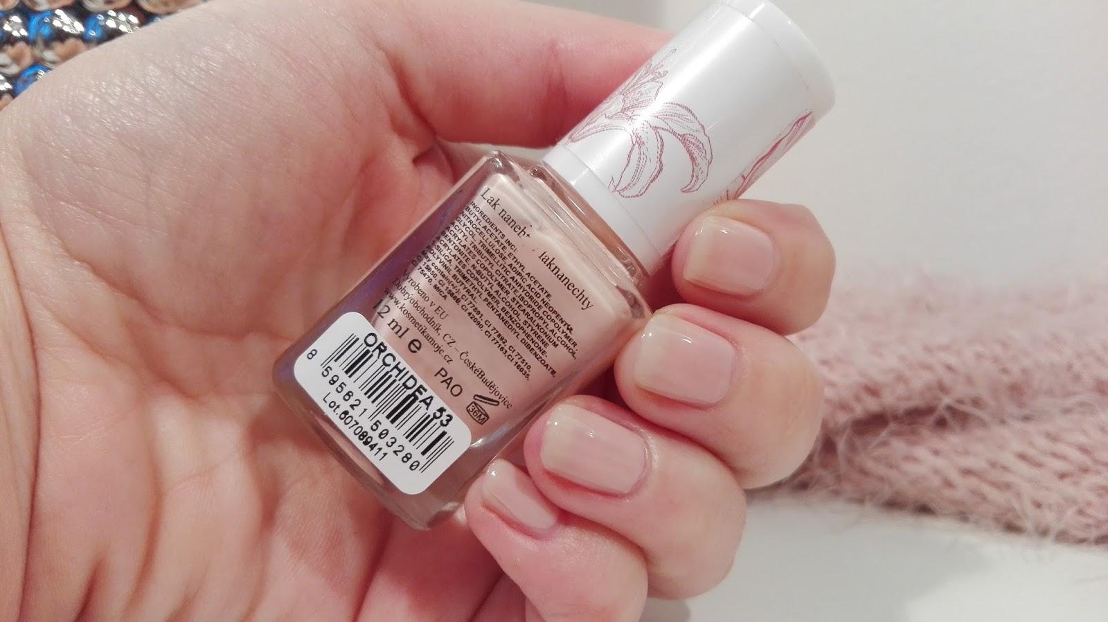 Beauty By K Kosmetika Moje Nude Lak Na Nehty Orchidea 53