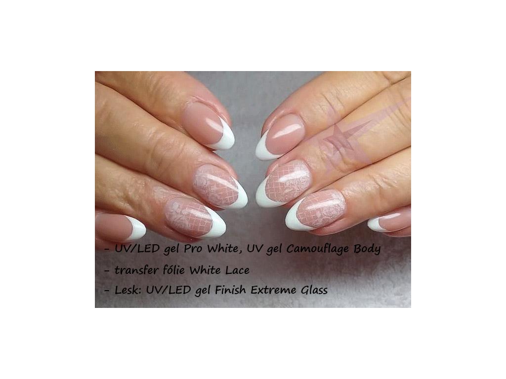 French Uv Gel Pro White Babyboomer Gel 30ml