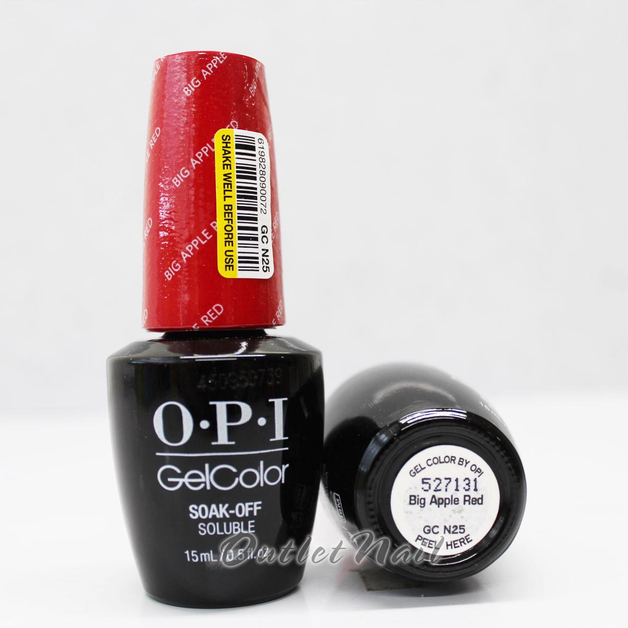 Mount And Blade Opi Big Apple Red Gel