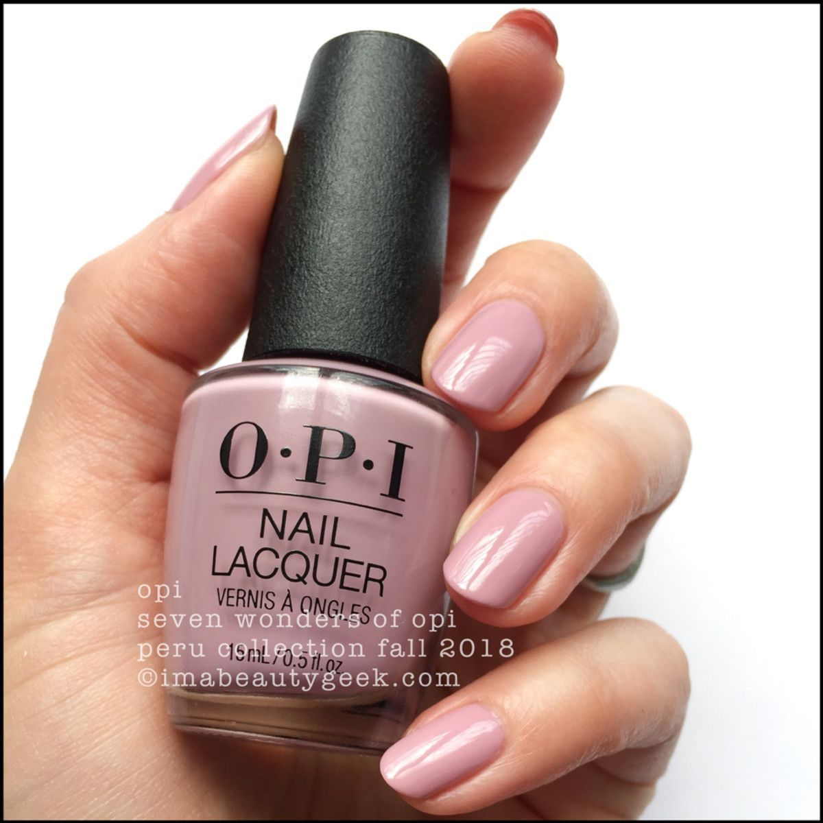 Opi Peru Swatches Review Fall 2018 Nehty