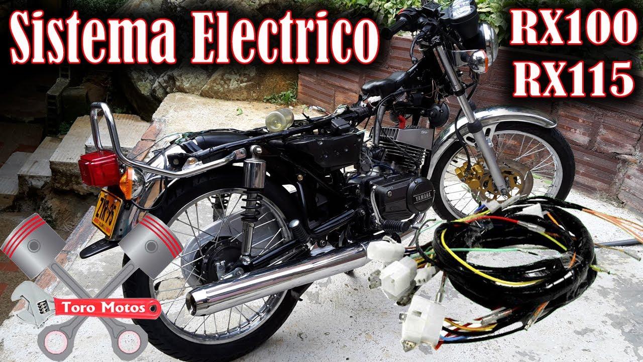Sistema Electrico Yamaha Rx 100 Rx 115 Toromotos Youtube