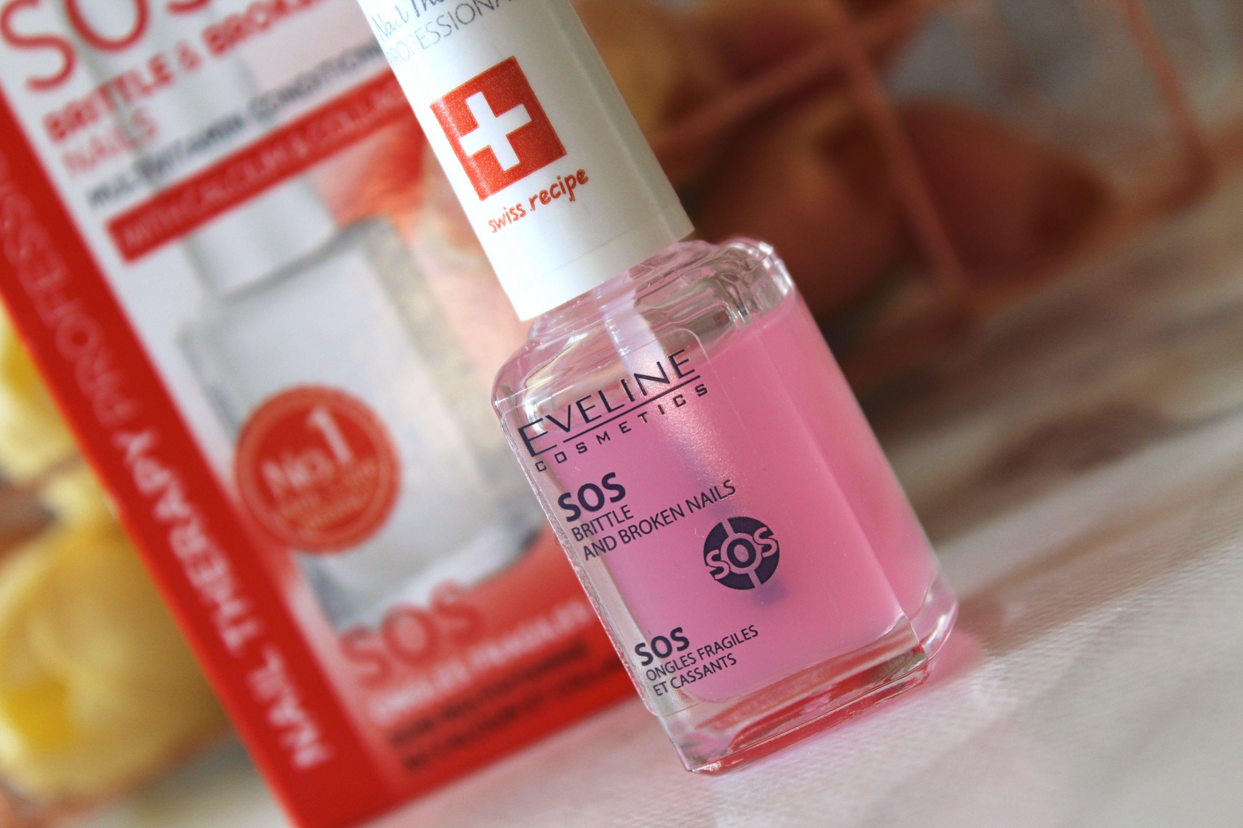 Eveline Cosmetics Sos Brittle Broken Nails Multivitamin Conditioner Review Recenzija Simple Serenity