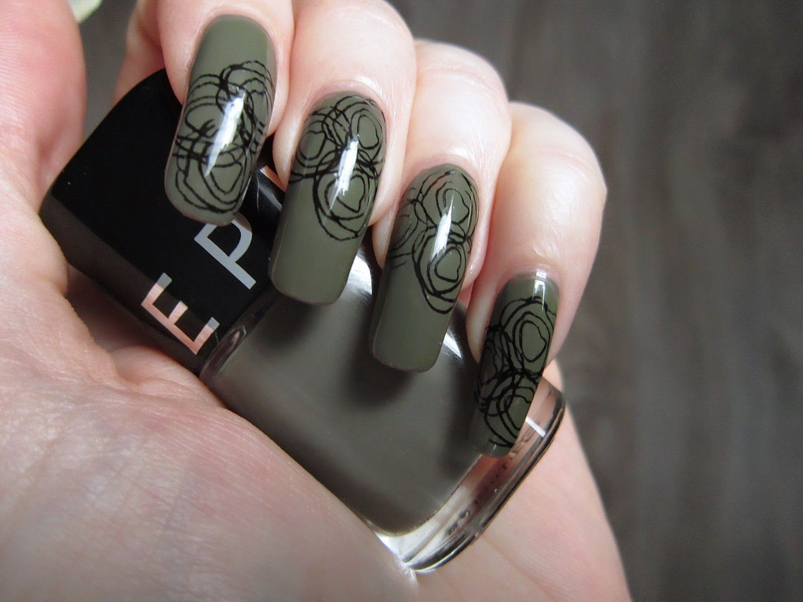 Sephora Game Over Nail Polish Stamping Stamp Plate Qa44 From Ebay