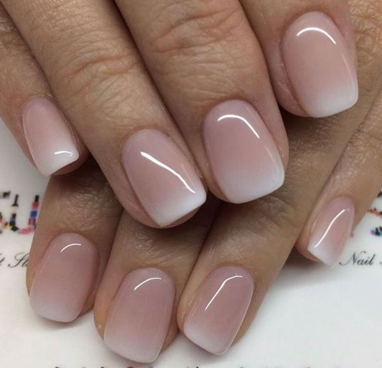 Pin By Berenyqa On My Girlie Stuff Light Colored Nails Wedding Nails French Trendy Nails