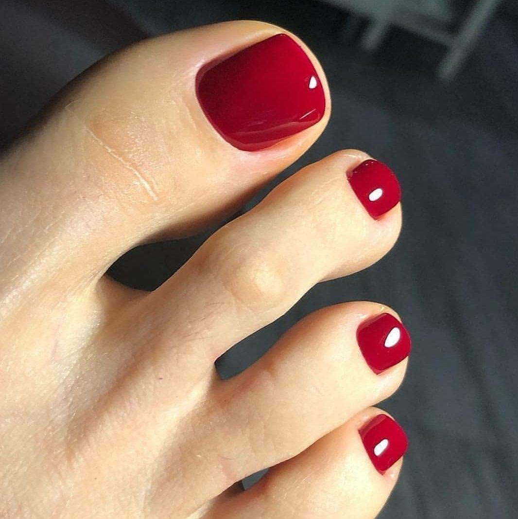 Pin By Sona Adamova On Manikyur Gel Toe Nails Toe Nail Color Cute Toe Nails