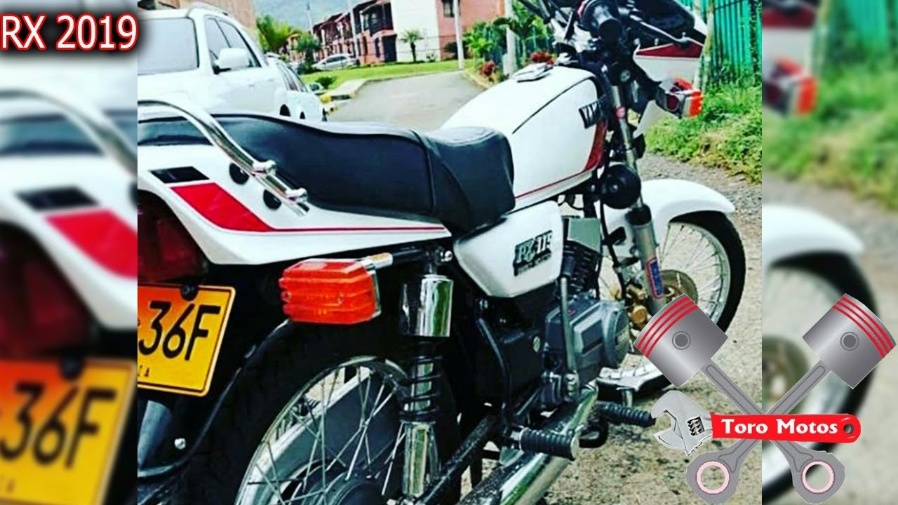2019 Placa F Yamaha Rx 115 Rx 100 Rx 135 Toromotos Youtube