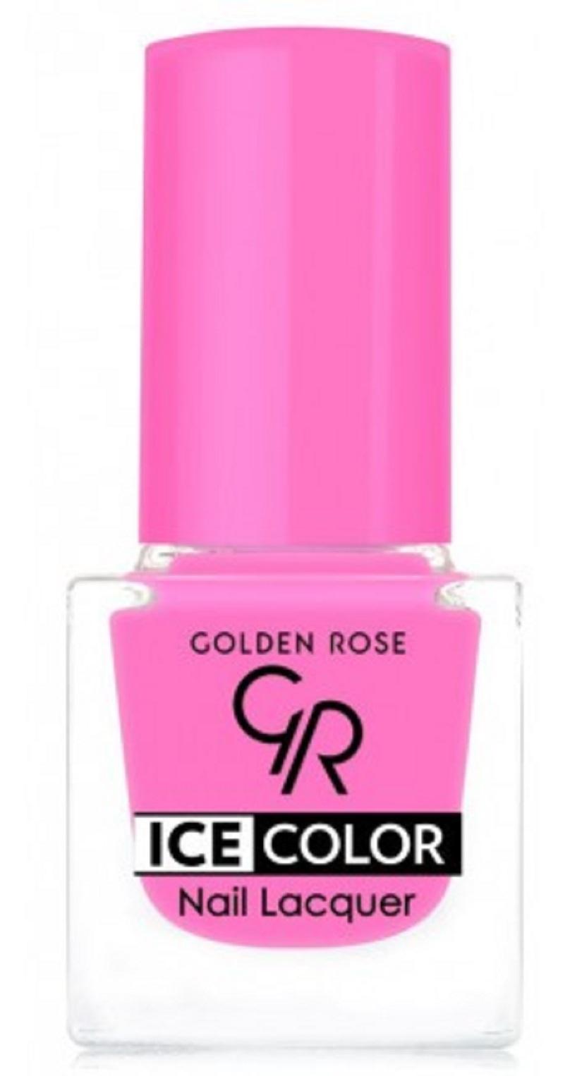 Golden Rose Ice Color Nail Lacquer Lak Na Nehty Mini 201 6 Ml Parfemomanie Cz