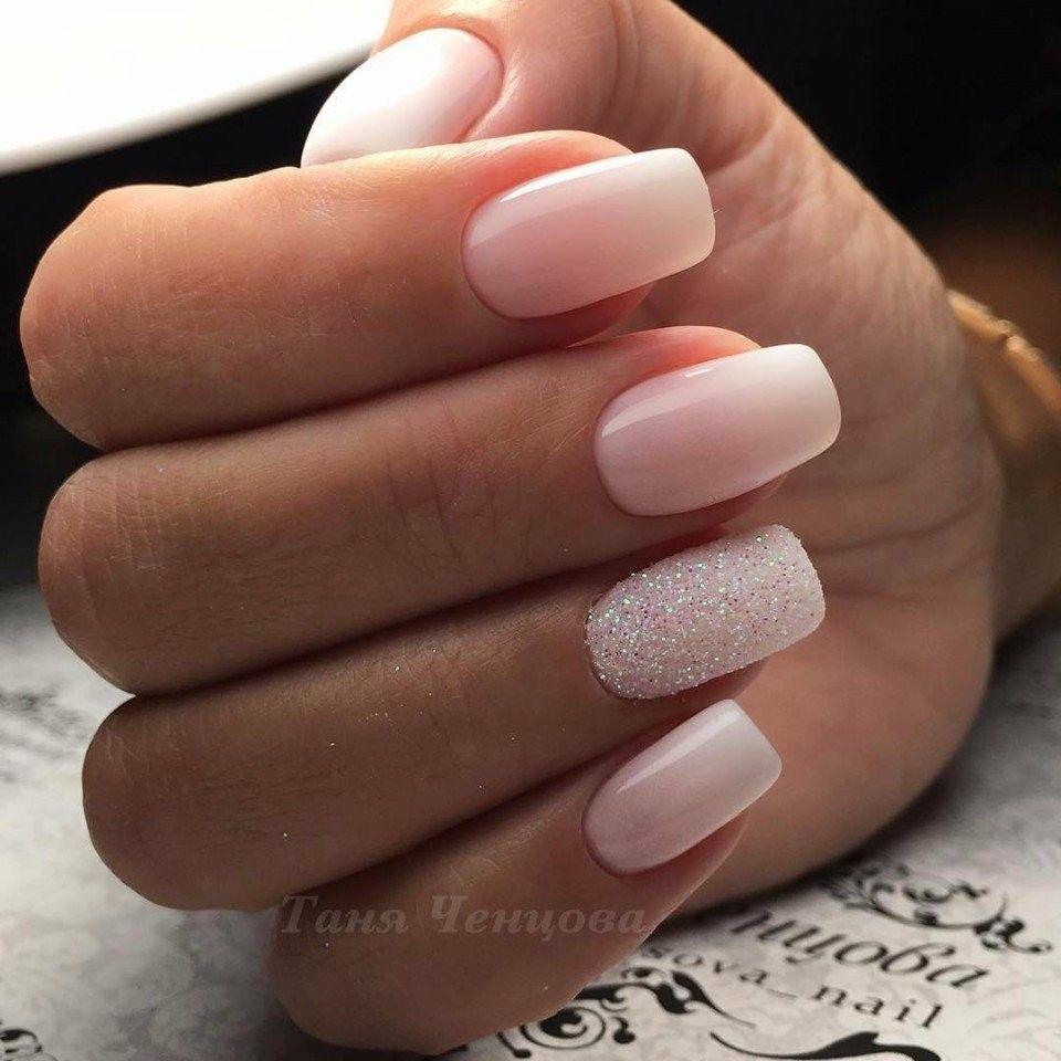 Love This Ombre And Fashion Finger Naglar Nagelideer Brollopsnaglar