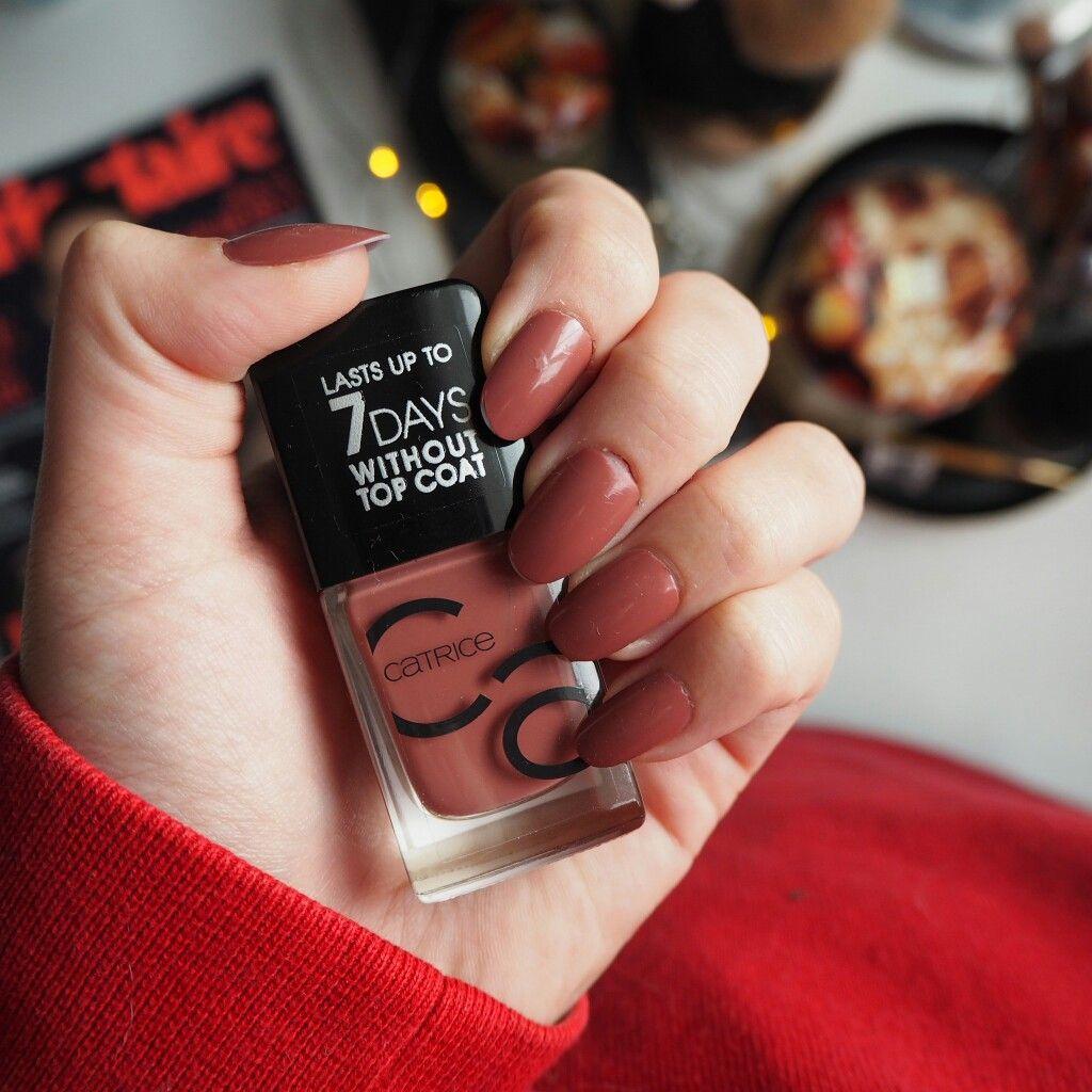 My Fave Colors Nail Polish By Catrice Shade 10 Rosywood Hills Nails Nailinspo Nailpolish Manicure