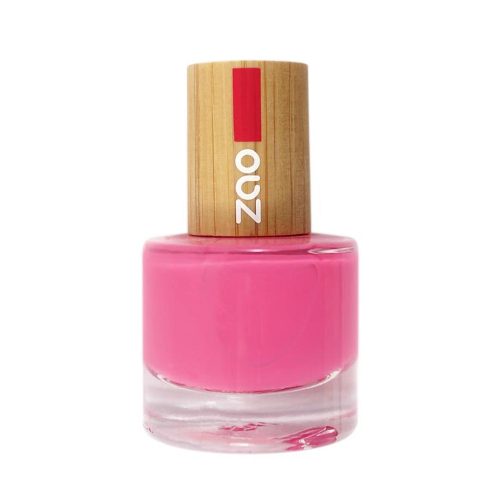 Biooo Cz Zao Lak Na Nehty 657 Fuchsia Pink 8 Ml