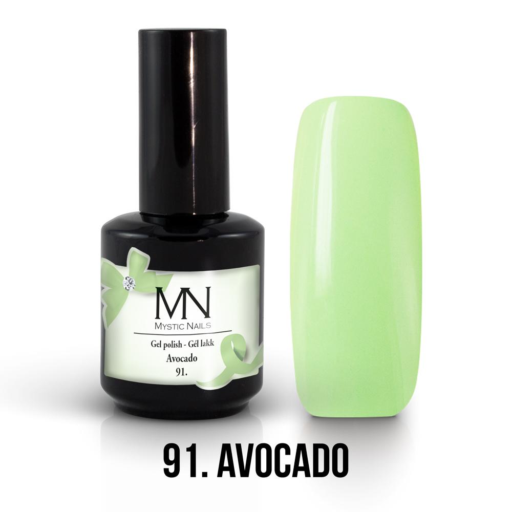 Gel Lakk 91 Avocado 12ml Kategoria Gel Lakk Szinek 12 Ml Ar 2 639 Ft Mystic Nails