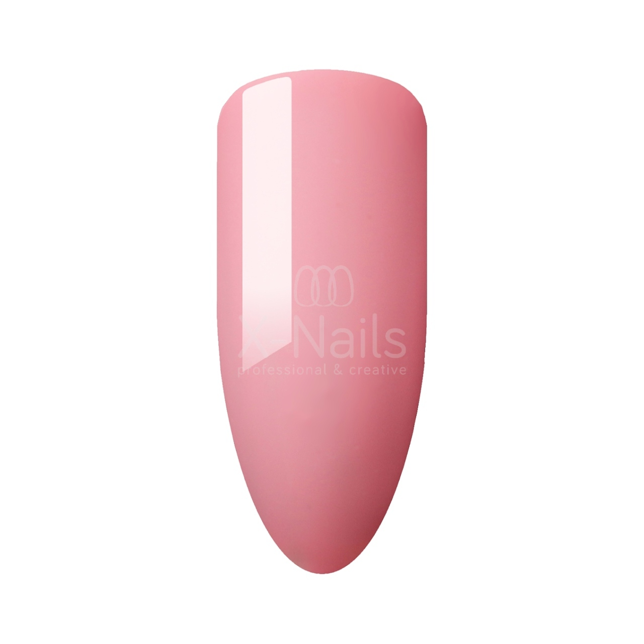 X Nails Jednofazovy One Step Gel Lak 3 V 1 Sunny Pink