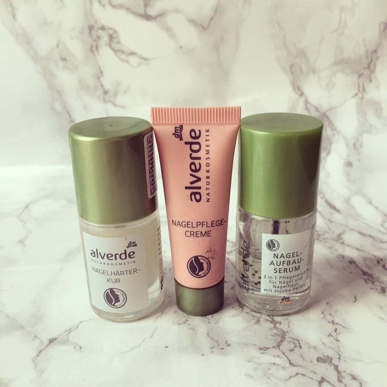 Little Obsessions Alverde Nail Care