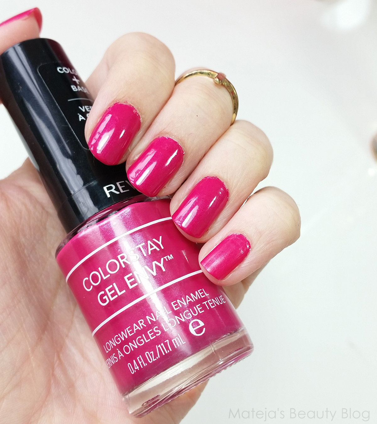 Revlon Colorstay Nail Envy 400 Royal Flush Mateja S Beauty Blog Bloglovin