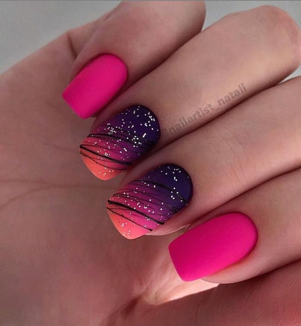 30 Cool Nail Acrylic Designs Ideas To Wear This Summer Gelove Nehty Design Nehtu Nail Art