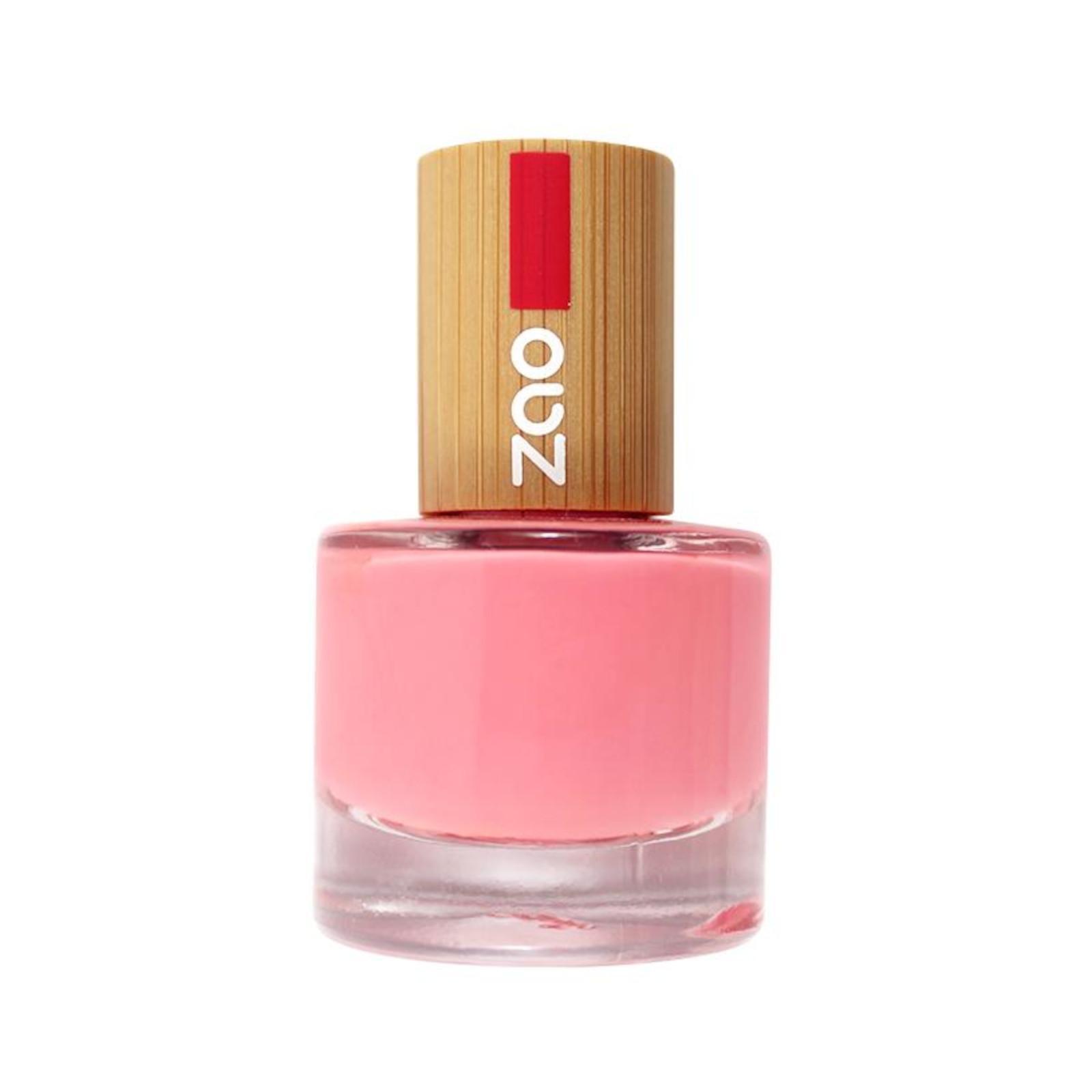 Biooo Cz Zao Lak Na Nehty 654 Hot Pink 8 Ml