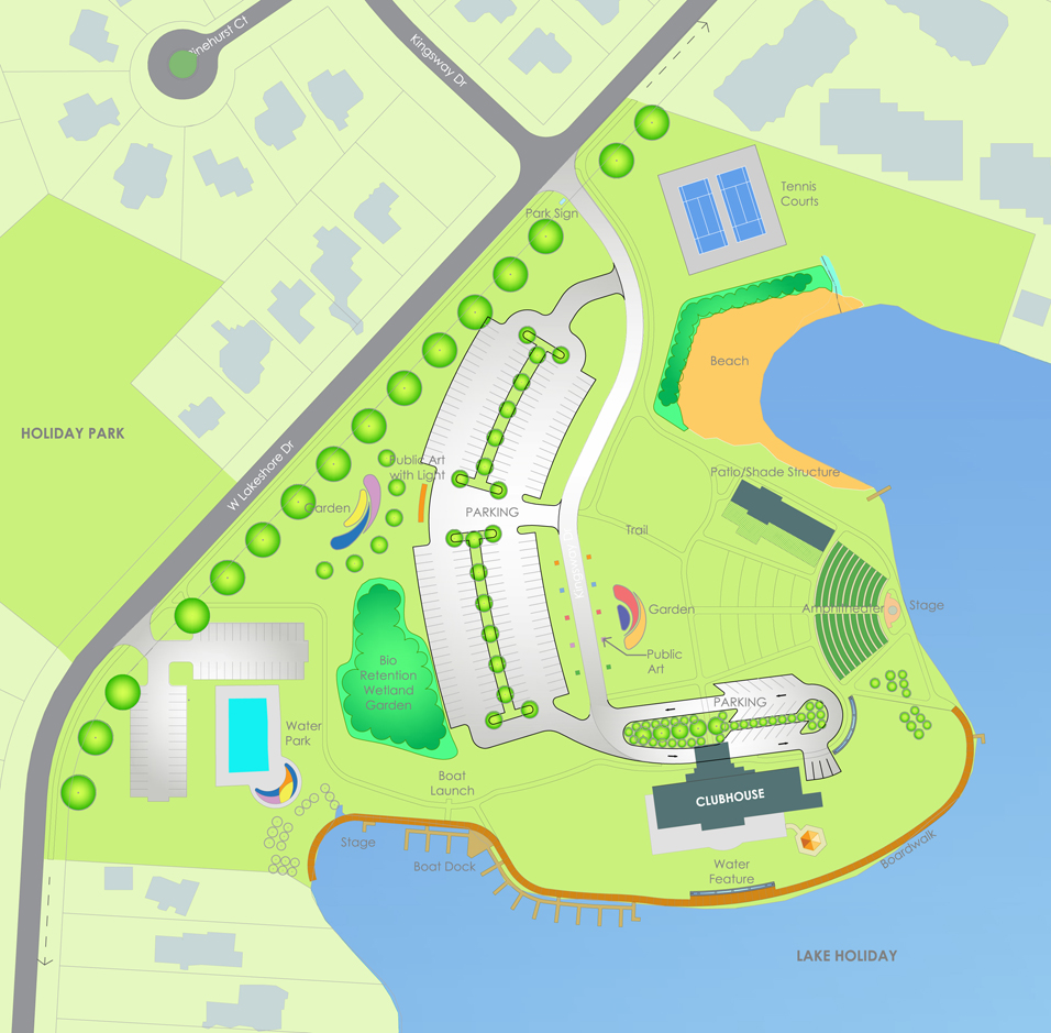 Lakes Of The Four Seasons Master Plan The Arsh Group Inc