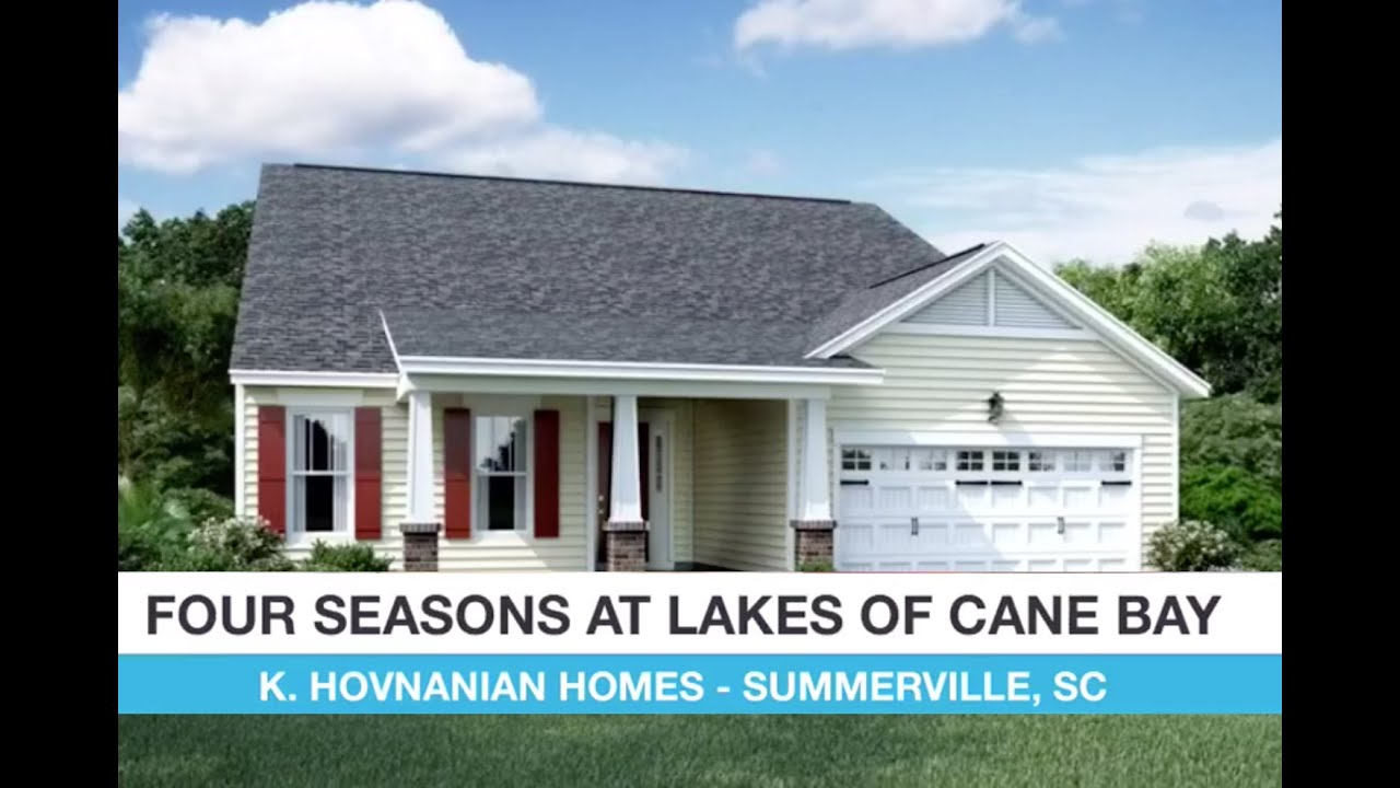 New Home Lifestyles Four Seasons At The Lakes Of Cane Bay By K Hovnanian Homes Youtube