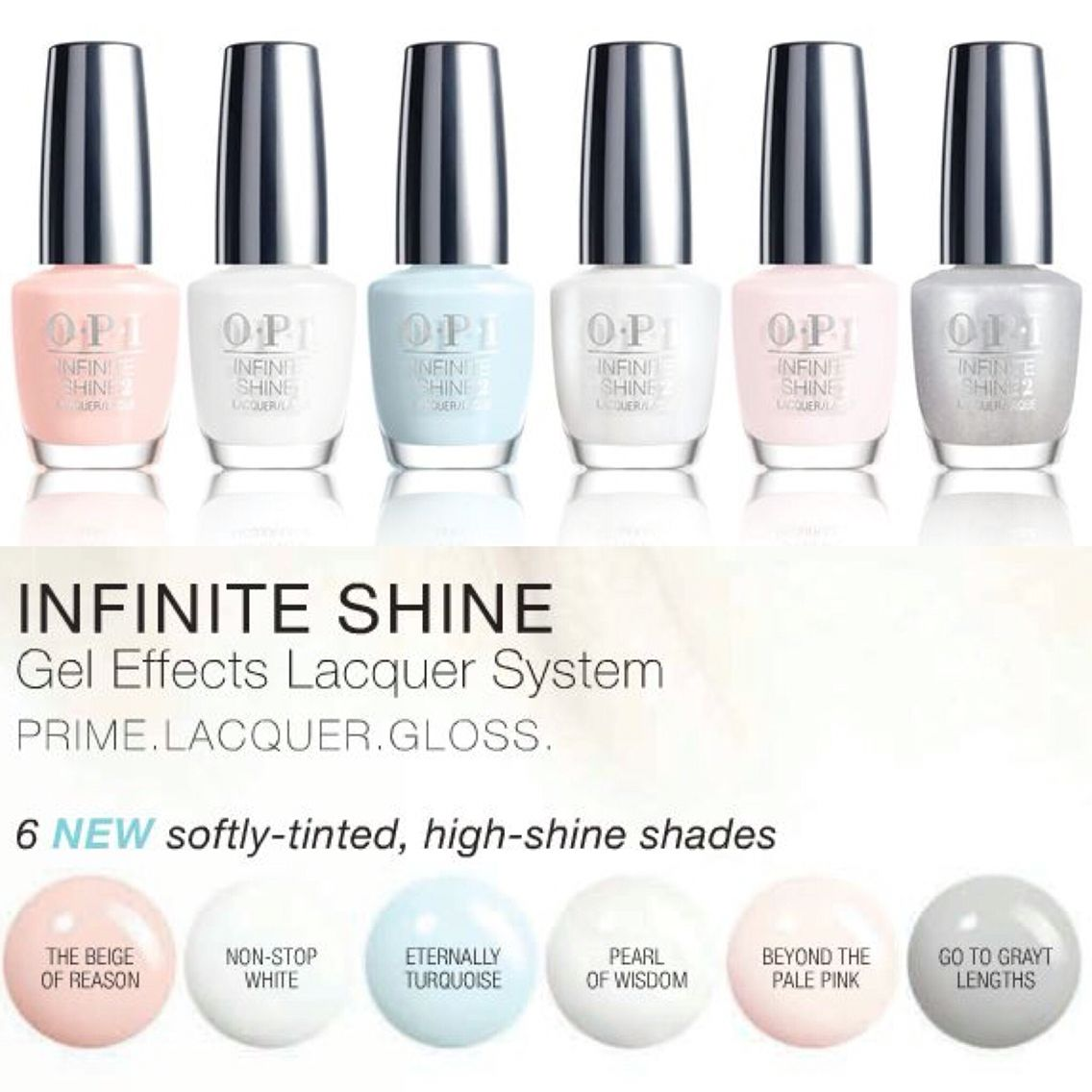Opi Infinite Shine Gel Effects Lacquer First Impressions