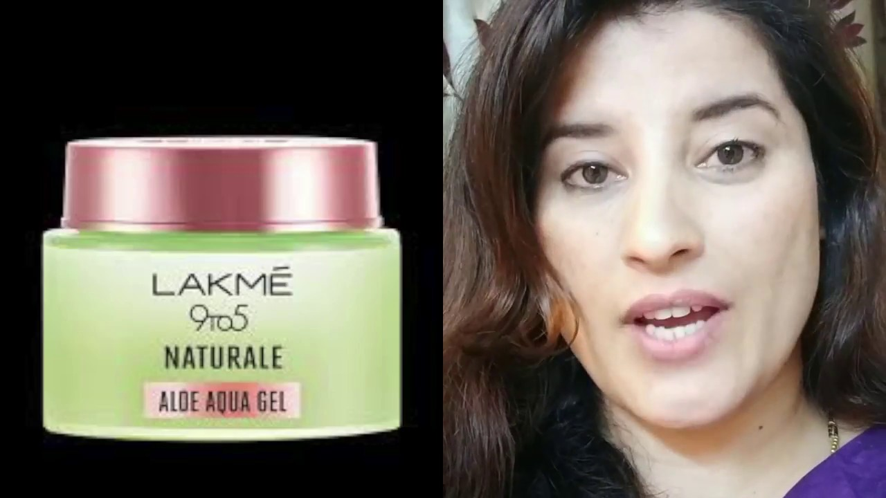 I Tried Lakme 9 To 5 Naturale Aloe Aqua Gel As Primer For Whole Day Honest Review Rachna Jinta Youtube