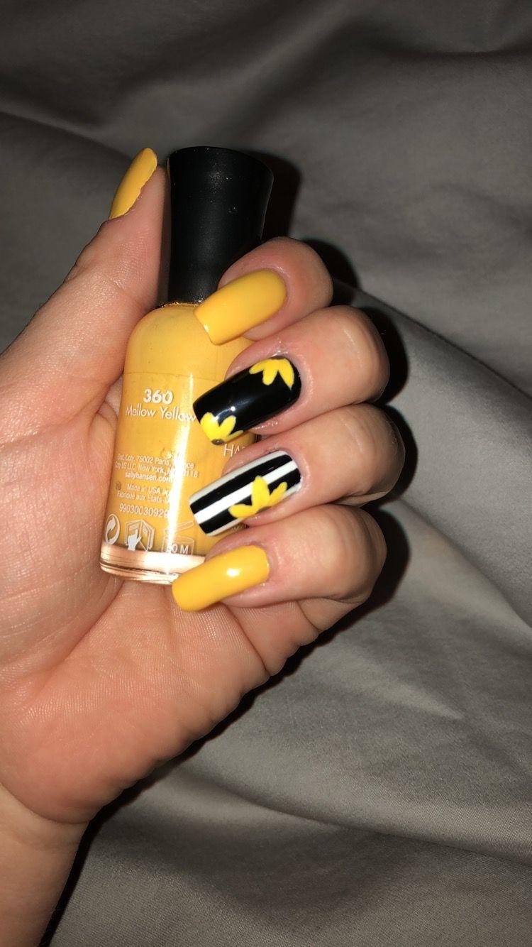 Sunflower Nails Gelove Nehty Nehty