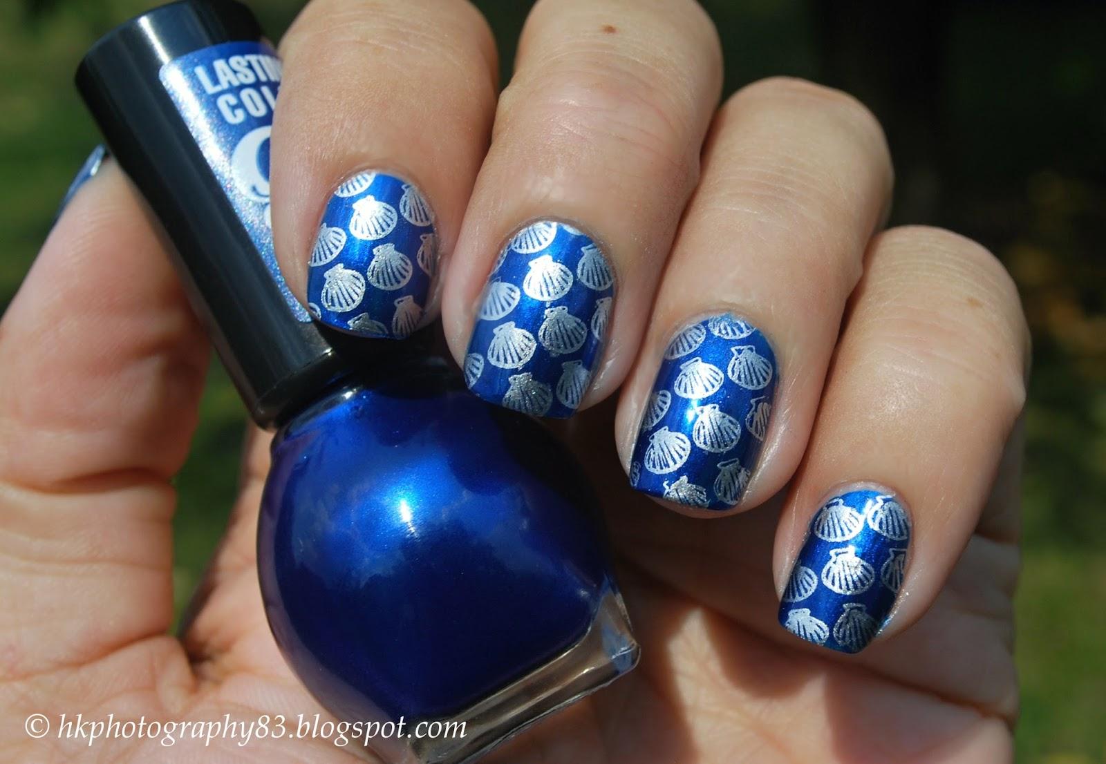 Hk Photography Seashell Nail Art