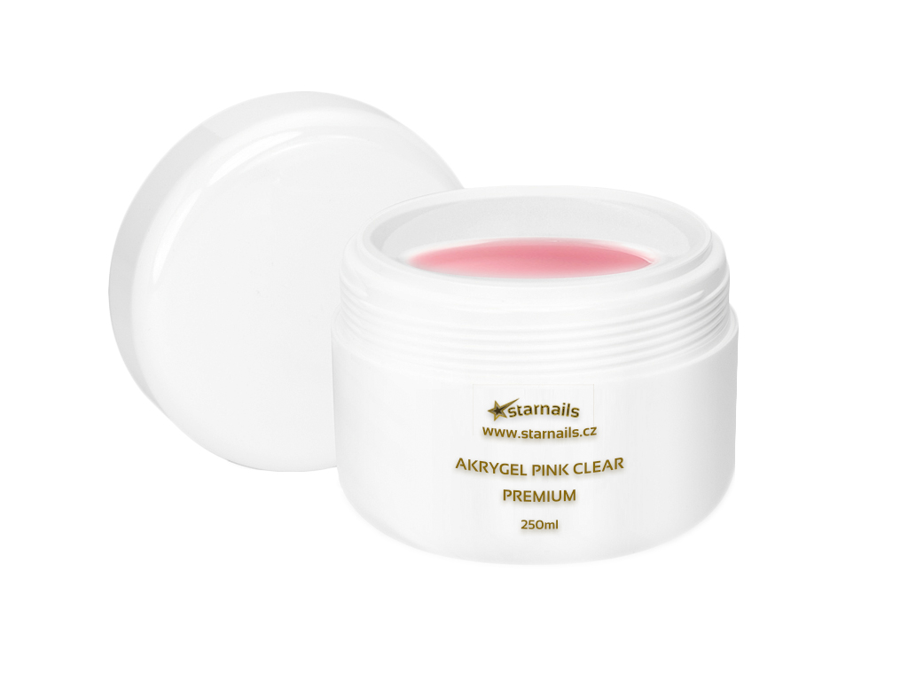 Uv Gel Na Nehty Akrygel Pink Premium 250ml
