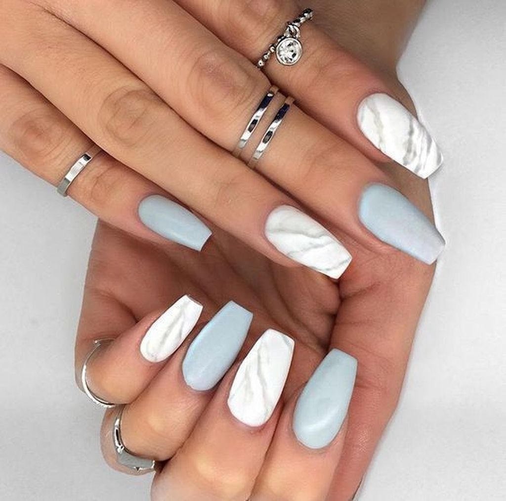 37 Pretty Nail Designs Ideas For Spring Winter Summer And Fall In 2020 Design Nehtu