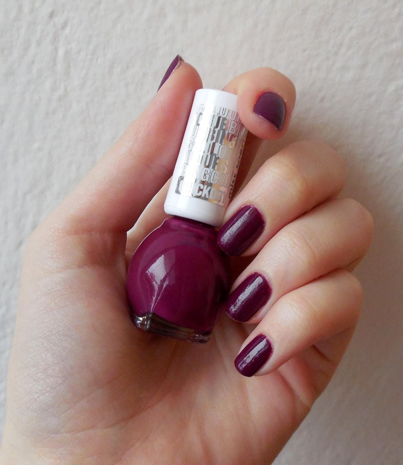 Kosmetika Recenze Blog Blogspot Cz Lak Na Nehty Od Miss Sporty