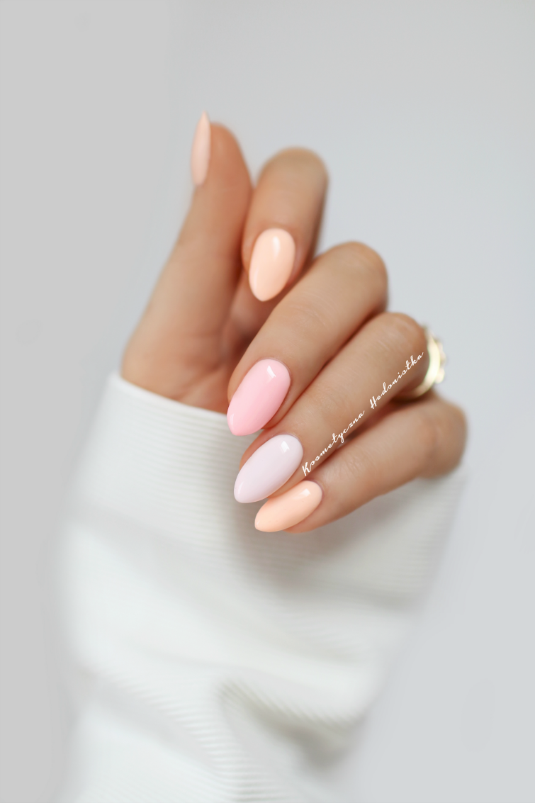 Provocater Najpiekniejsze Lakiery Hybrydowe Na Wiosne I Pastelowy Manicure Beautynails Com Imagens Unhas Coloridas Unhas Basicas Unhas Amendoada