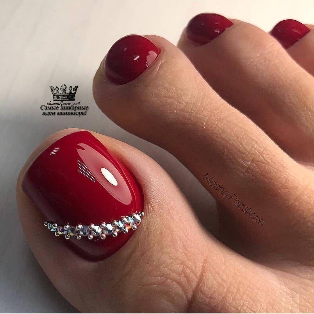 Shikarnye Nogti Manikyur Dizajn Nogtej 2019 Toe Nail Color Pedicure Designs Toenails Toe Nails