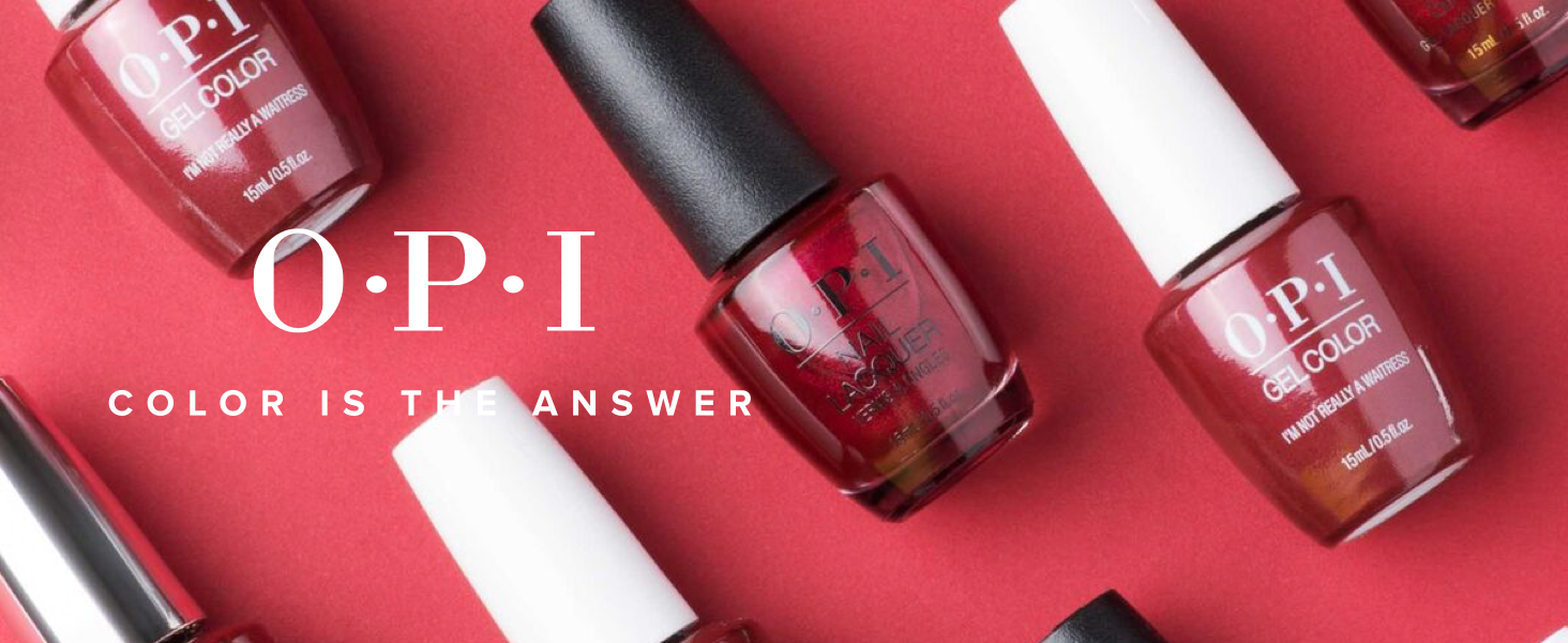 Amazon Com Opi Gelcolor Nail Polish Red Gel Nail Polish Premium Beauty