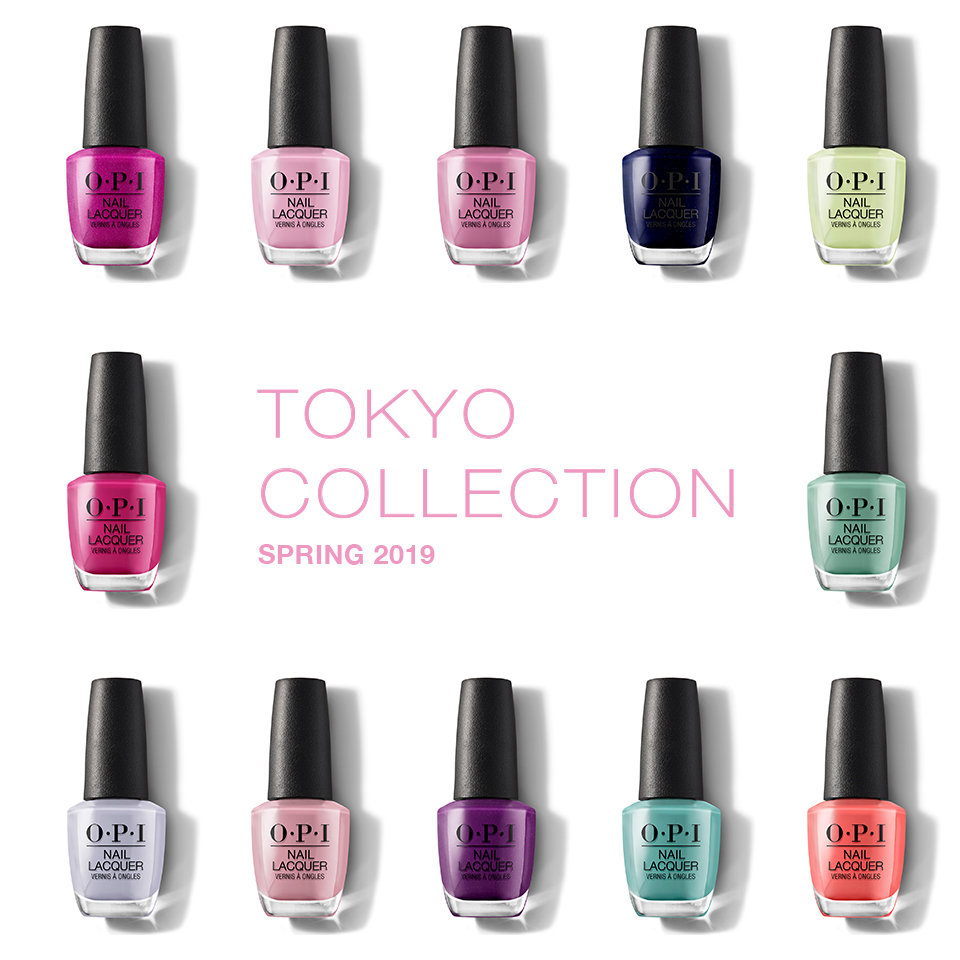 Arigato From Tokyo Nail Lacquer Opi