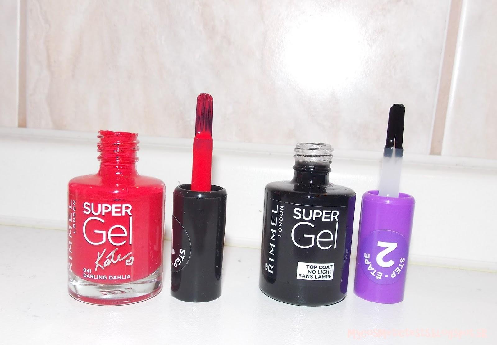 Testujeme Kozmetiku Rimmel London Super Gel