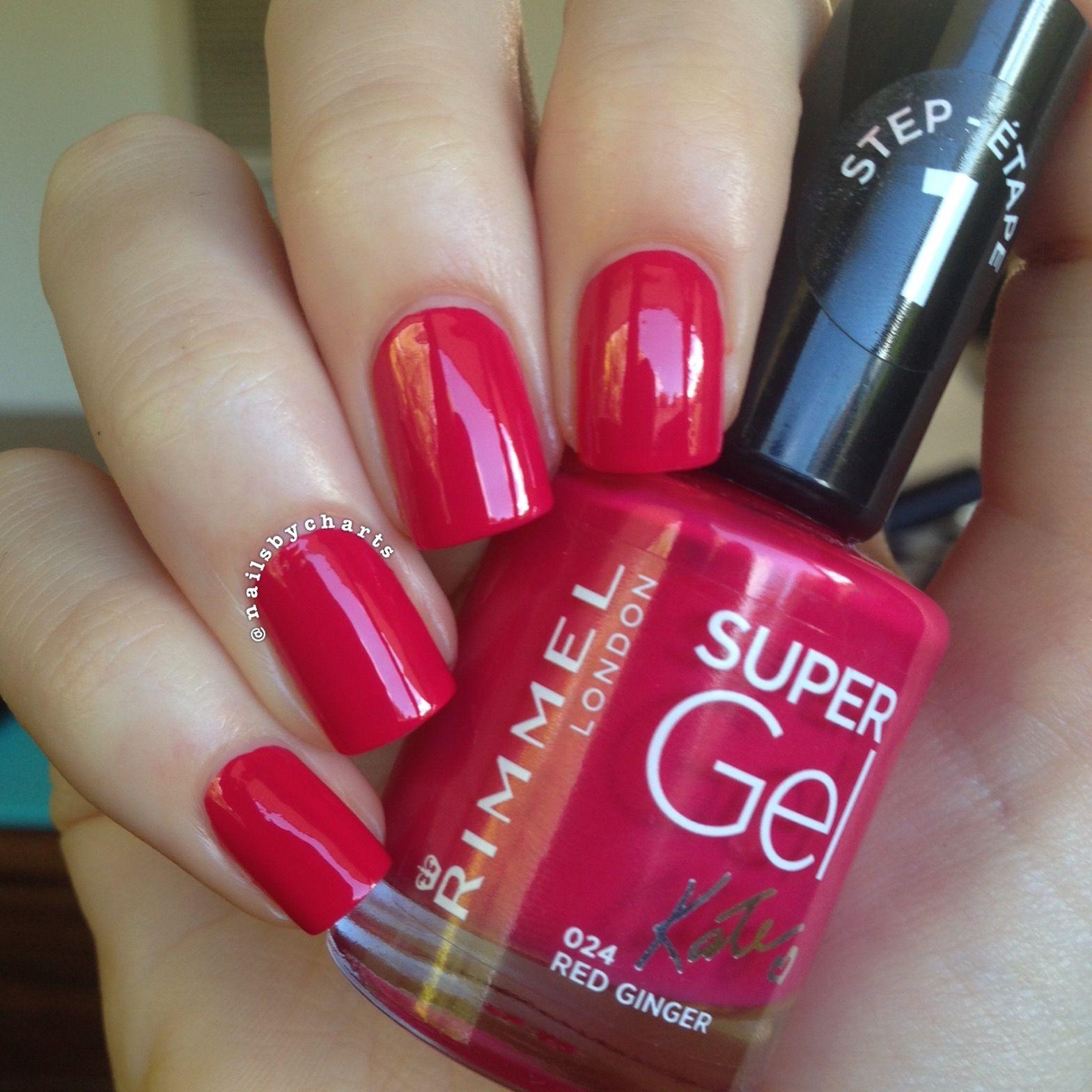 Rimmel Red Ginger Nail Polish Rimmel Nail Polish Fabulous Nails