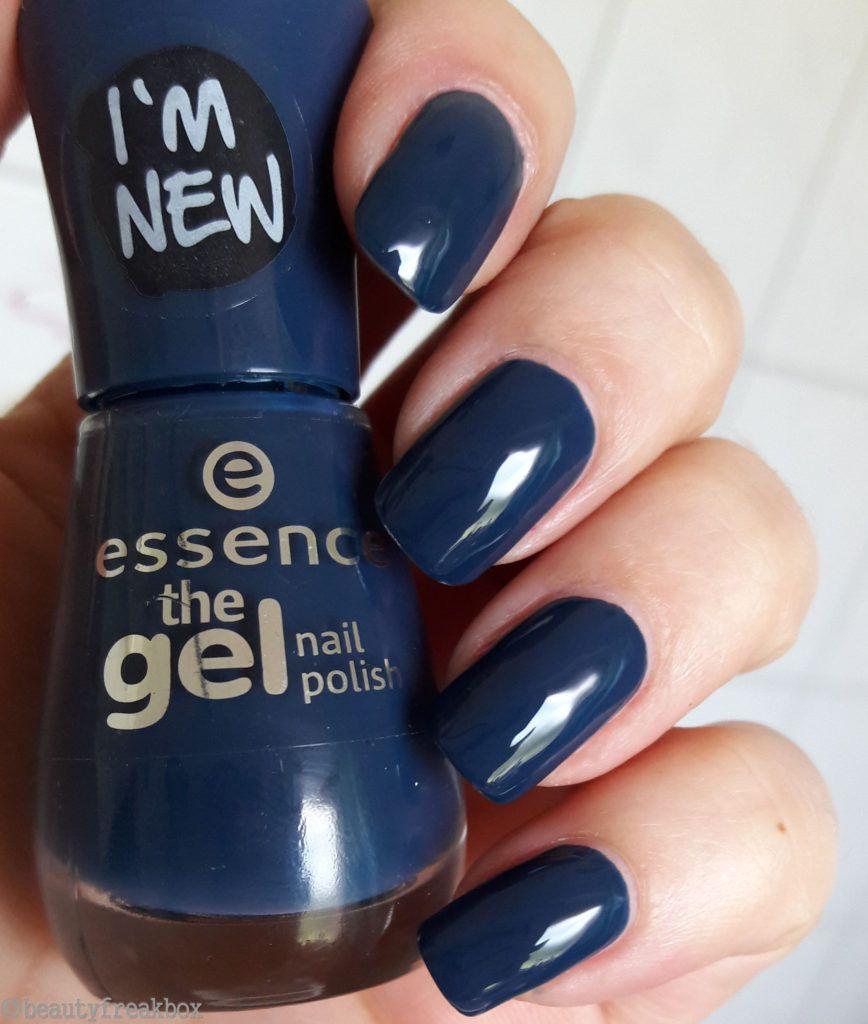 Essence The Gel Nail Polish 78 Royal Blue Essence Nailpolish Nagellack Dmdrogerie Budni Rossmann Essenceneuheiten Newin Nehty Lak