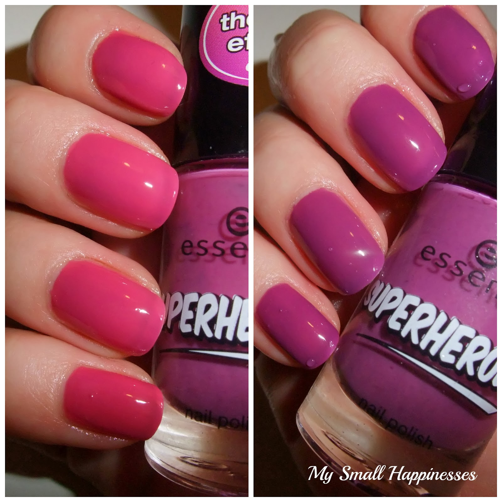 My Small Happinesses Weekend S Nails Essence Superheroes Thermo Effect