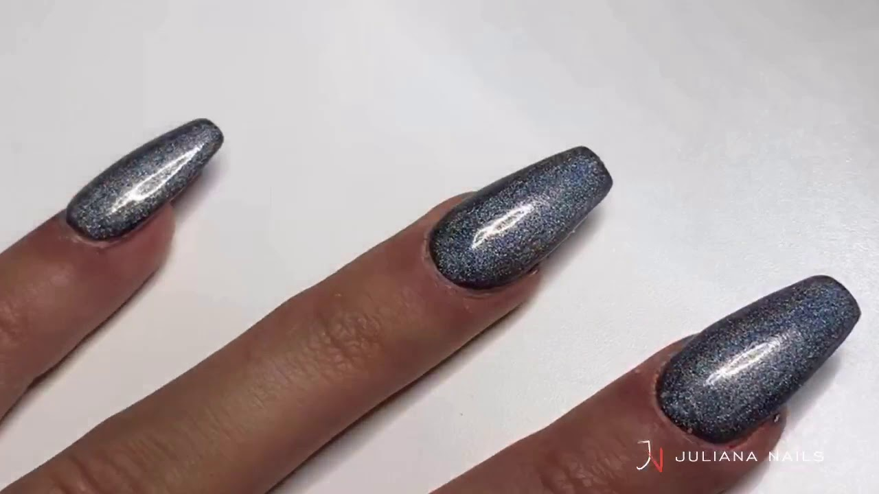 Holographic Gel Lak Silver Galaxy Youtube