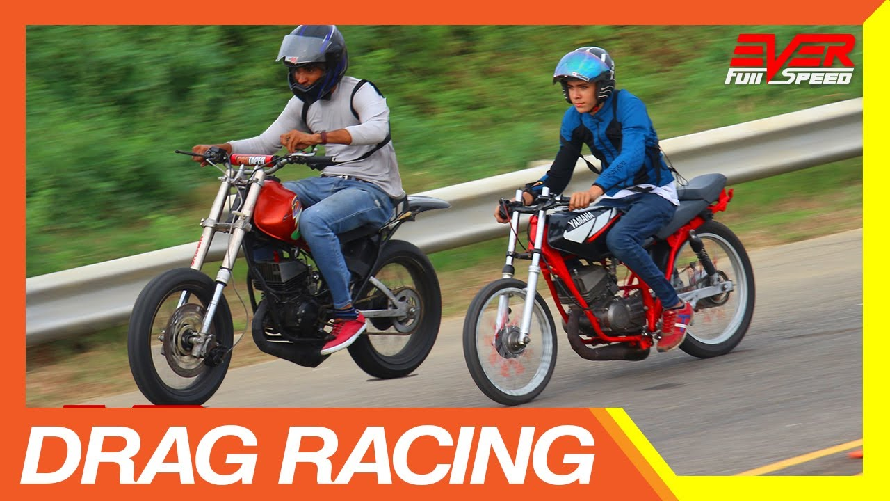 Yamaha Dt Vs Yamaha Rx Drag Racing Duelo De Motos Youtube