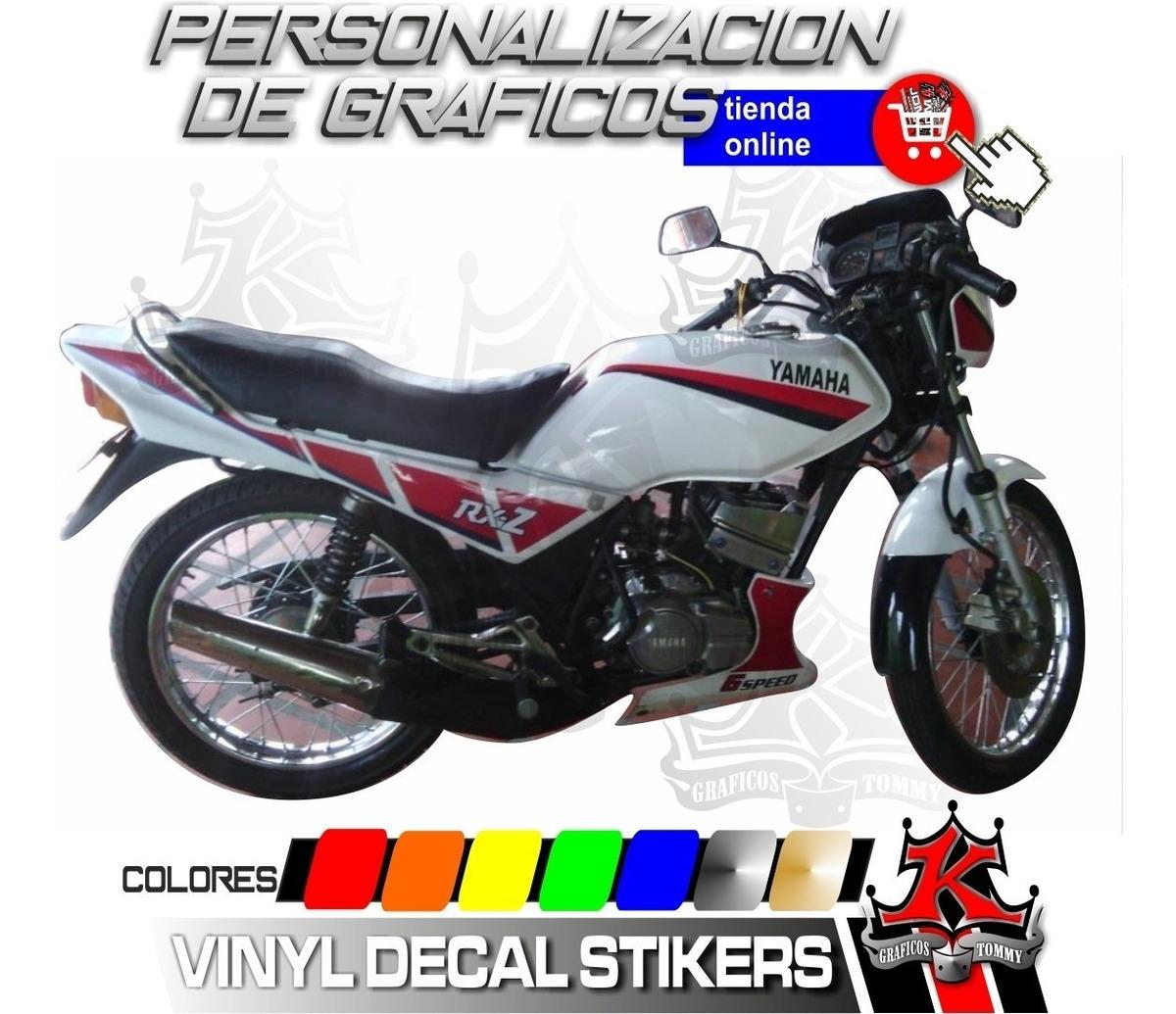 Calcomanias Rxz 6 Speed Modelazo Yamaha Bs 500 000 00 En Mercado Libre