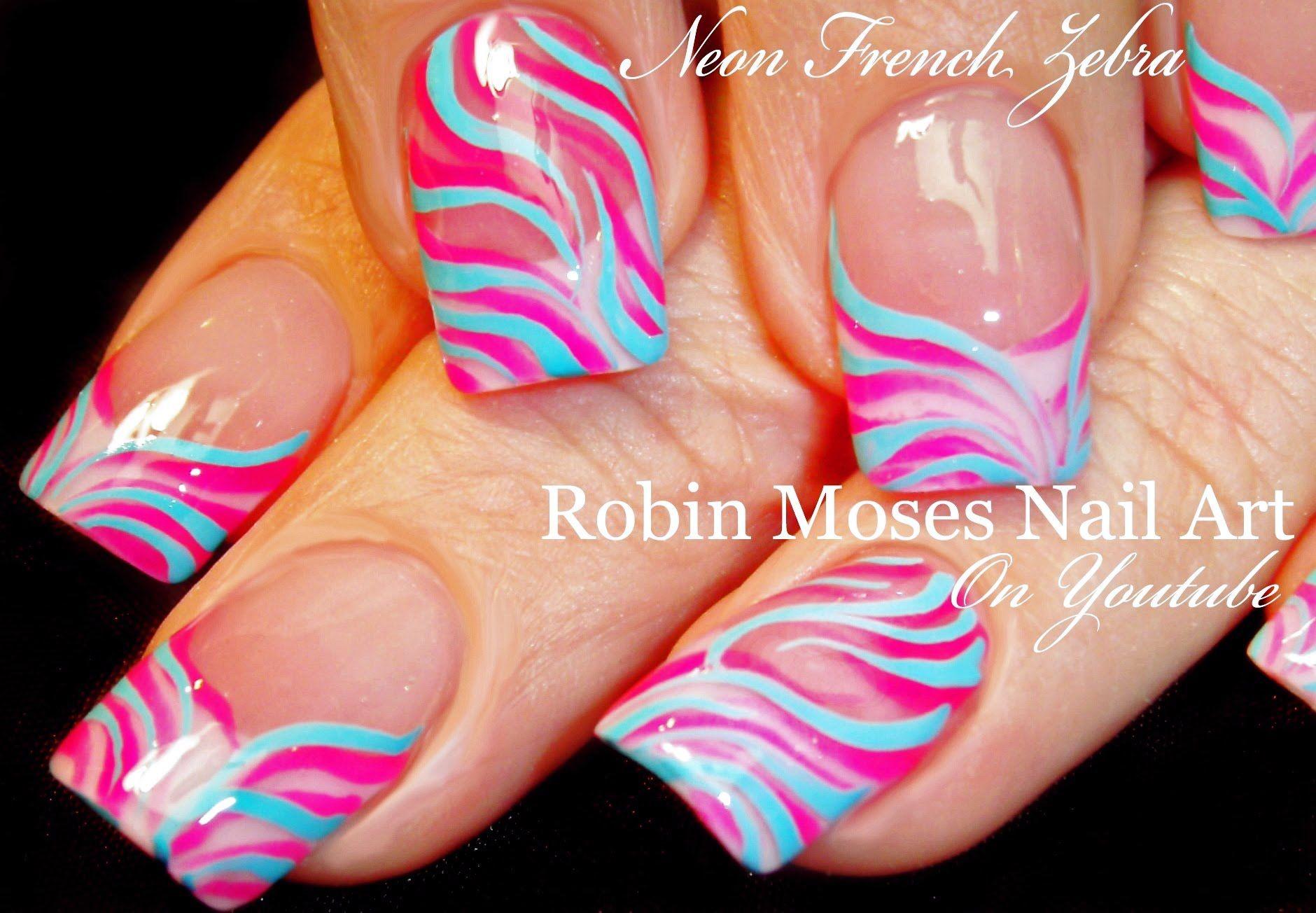 Nail Art Easy Spring Nails Design For Beginners Easter Zebra Print N