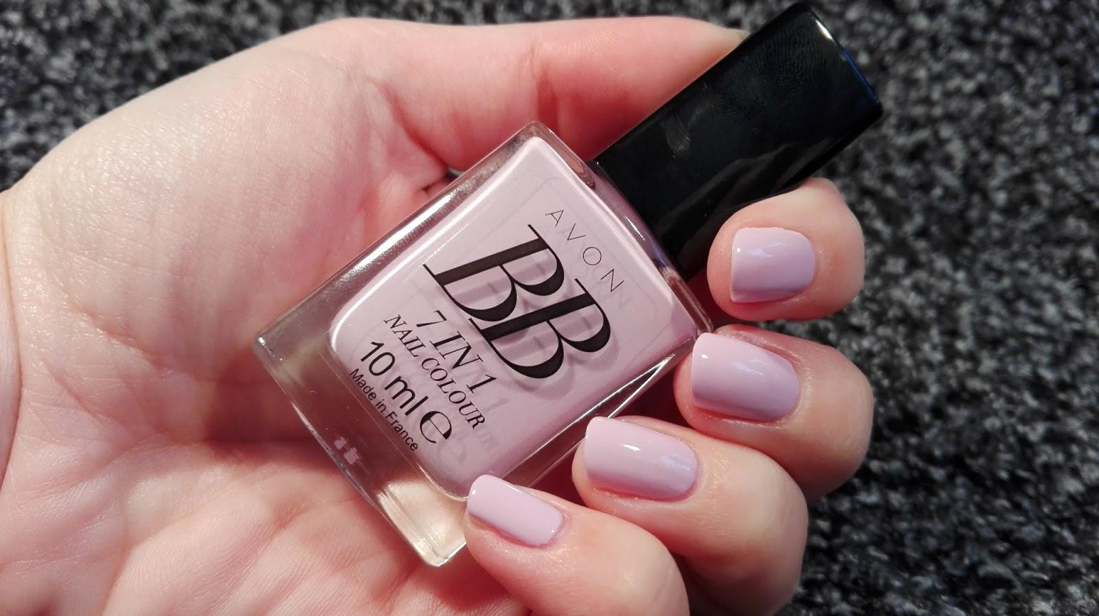 Beauty By K Avon Bb Lak Na Nehty Lilac Love