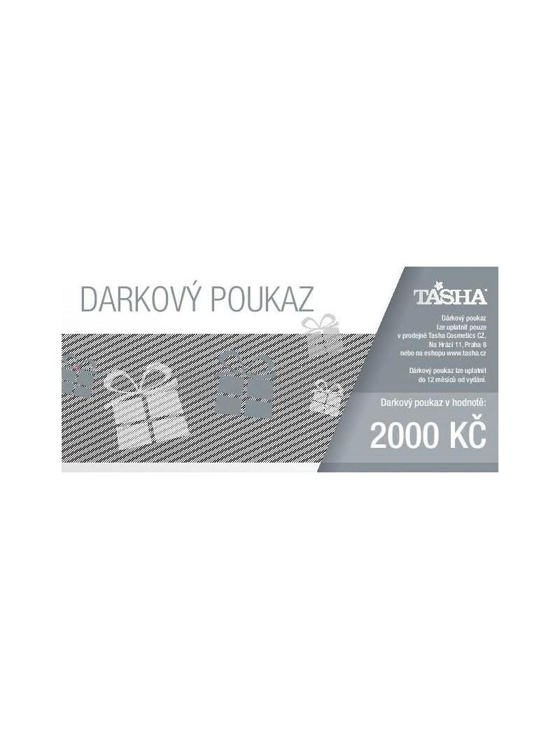Darkovy Poukaz V Hodnote 2000 Kc Tasha
