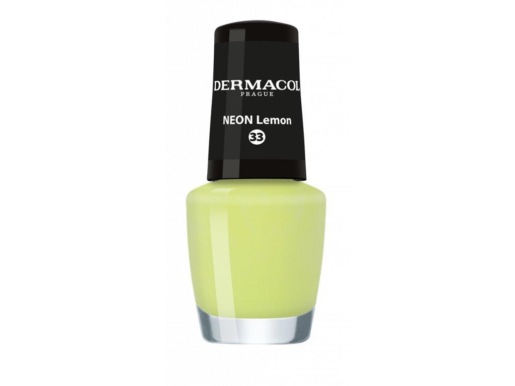Dermacol Lak Na Nehty Neon Nail Polish 33 5ml Dekorativka Cz