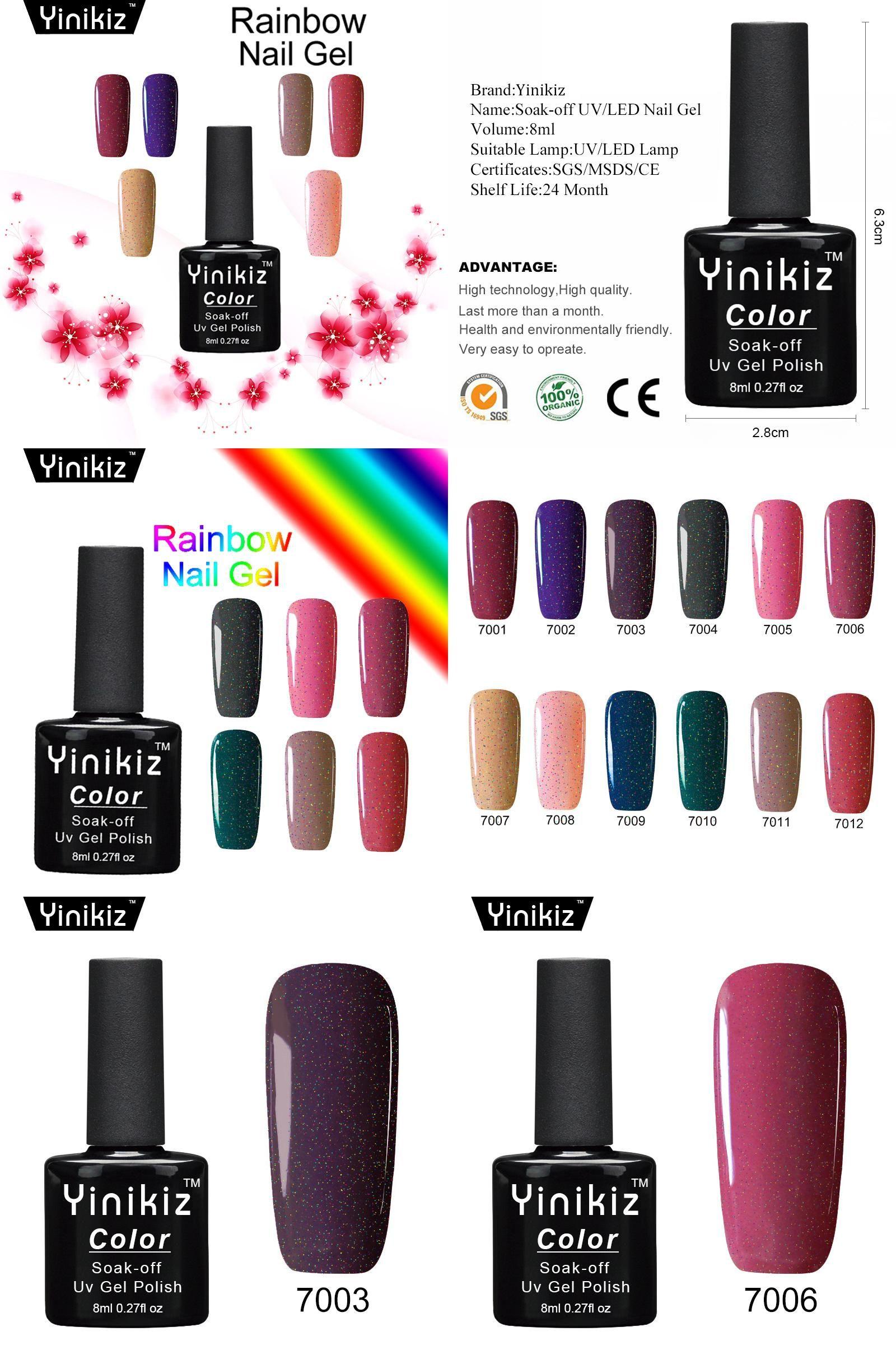 Visit To Buy Yinikiz Neon Nail Gel Lak Permanen Soak Off Long Lasting Nail Gel Polish Esmalte Primer Base And Non Cleansing Top C Gel Nails Uv Gel Gel Polish