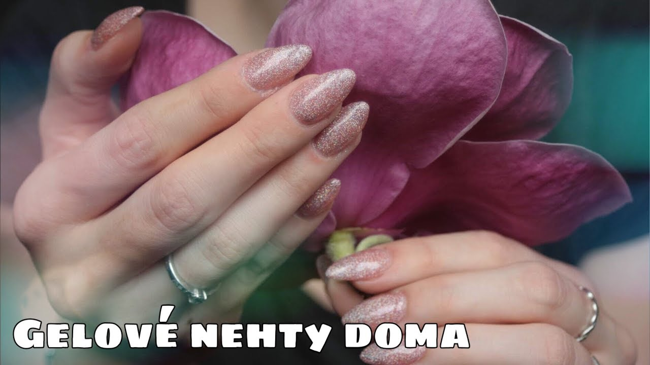 Gelove Nehty Sama Sobe Doma Kate Cosmetics Youtube