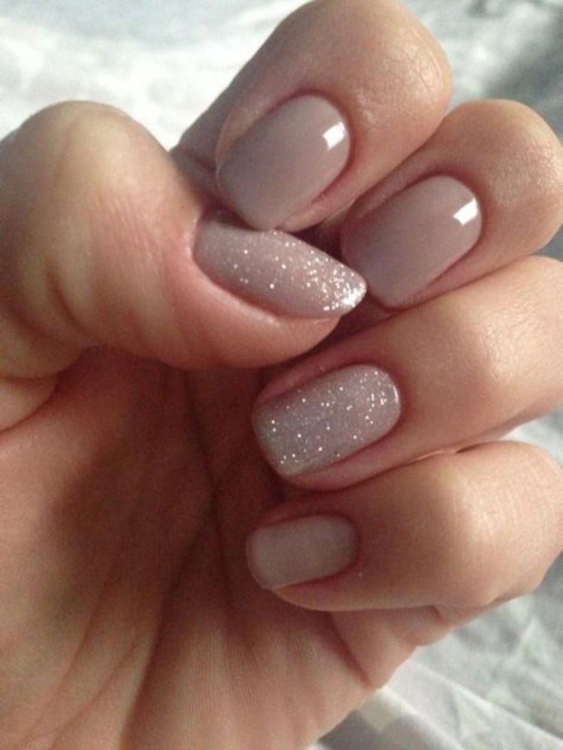 Boho Wedding Nails Weddingnailcolors In 2020 Bezove Nehty Gelove Nehty Barevne Nehty