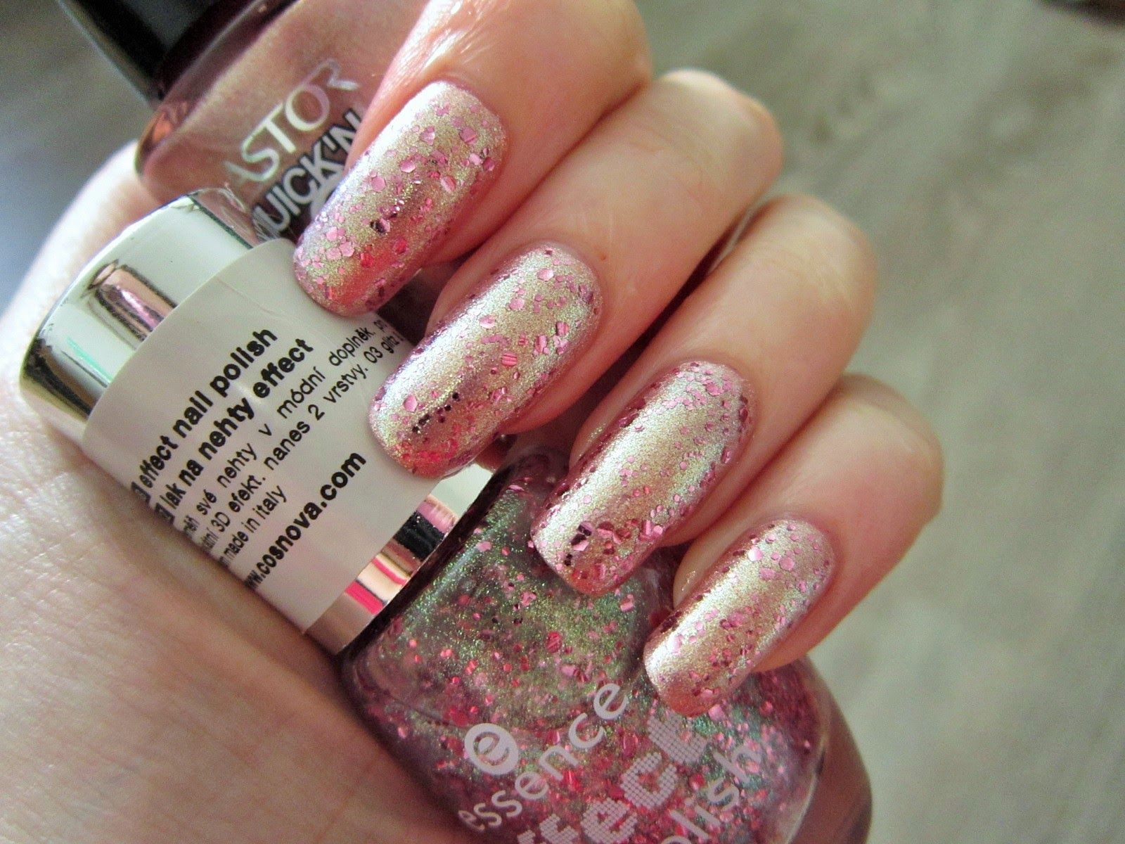 My Pink Spirit Nehet Nail Art Nehty