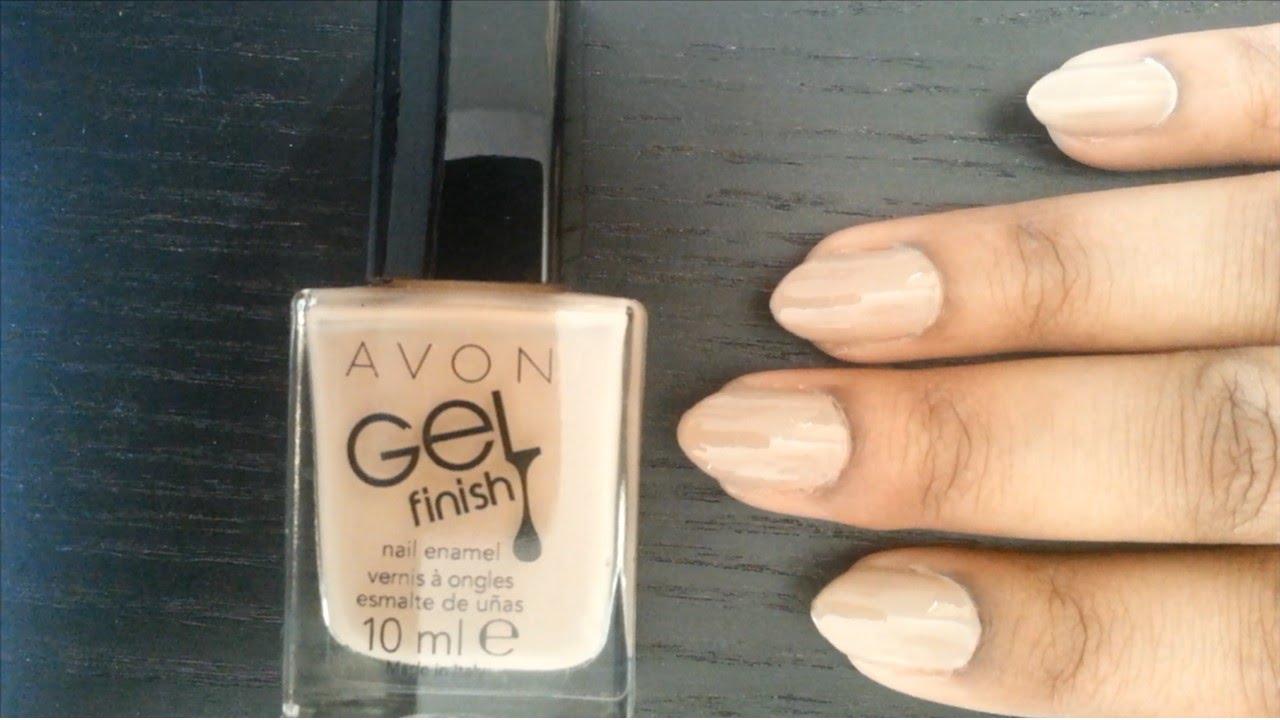 Avon Gel Finish Nail Polish Review Beauty Box X Youtube