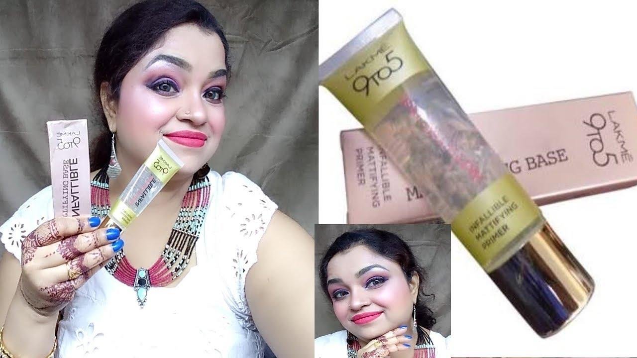 Lakme 9 To 5 Primer Makeup Tutorial Ll Mom Beauty Shalu Ll2018 Youtube